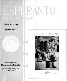 Esperanto : revuo internacia : oficiala organo de Universala Esperanto Asocio. Jaro 50, n. 619 (1957)