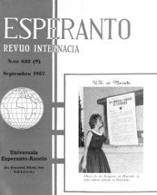 Esperanto : revuo internacia : oficiala organo de Universala Esperanto Asocio. Jaro 50, n. 622 (1957)