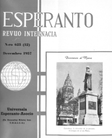 Esperanto : revuo internacia : oficiala organo de Universala Esperanto Asocio. Jaro 50, n. 625 (1957)