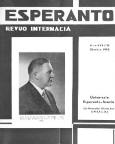 Esperanto : revuo internacia : oficiala organo de Universala Esperanto Asocio. Jaro 51, n. 635 (1958)