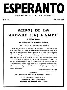 Esperanto : revuo internacia : oficiala organo de Universala Esperanto Asocio. Jaro 41, n. 517 (1948)