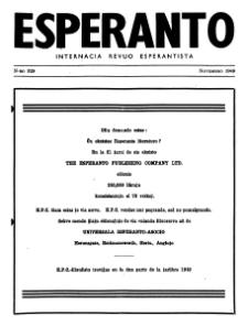 Esperanto : revuo internacia : oficiala organo de Universala Esperanto Asocio. Jaro 42, n. 529 (1949)
