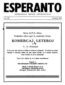 Esperanto : revuo internacia : oficiala organo de Universala Esperanto Asocio. Jaro 42, n. 530 (1949)