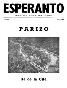 Esperanto : revuo internacia : oficiala organo de Universala Esperanto Asocio. Jaro 43, n. 535 (1950)