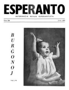 Esperanto : revuo internacia : oficiala organo de Universala Esperanto Asocio. Jaro 43, n. 536 (1950)