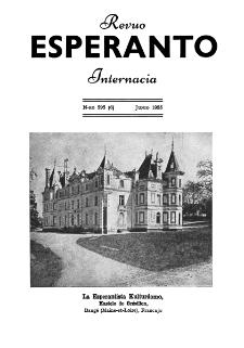 Esperanto : revuo internacia : oficiala organo de Universala Esperanto Asocio. Jaro 48, n. 595 (1955)