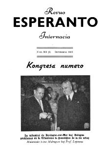 Esperanto : revuo internacia : oficiala organo de Universala Esperanto Asocio. Jaro 48, n. 598 (1955)