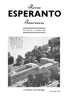 Esperanto : revuo internacia : oficiala organo de Universala Esperanto Asocio. Jaro 48, n. 600 (1955)