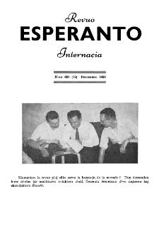 Esperanto : revuo internacia : oficiala organo de Universala Esperanto Asocio. Jaro 48, n. 601 (1955)