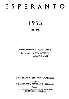 Esperanto : revuo internacia : oficiala organo de Universala Esperanto Asocio. Indeks Jaro 48 (1955)