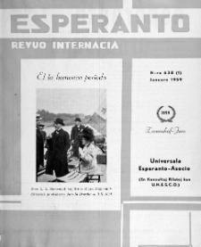 Esperanto : revuo internacia : oficiala organo de Universala Esperanto Asocio. Jaro 52, n. 638 (1959)