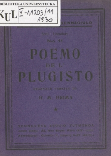 Poemo de l'plugisto.