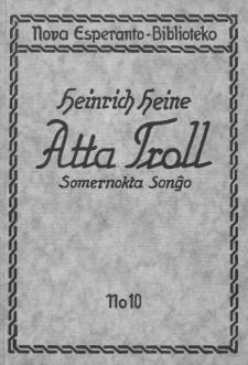 Atta Troll : somernokta sonĝo.