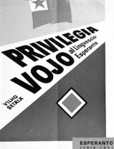 Esperanto : revuo internacia : oficiala organo de Universala Esperanto Asocio. Jaro 54, n. 667 (1961)