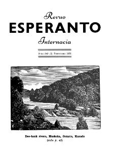 Esperanto : revuo internacia : oficiala organo de Universala Esperanto Asocio. Jaro 44, n. 543 (1951)