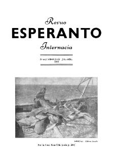 Esperanto : revuo internacia : oficiala organo de Universala Esperanto Asocio. Jaro 44, n. 548/549 (1951)