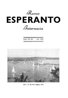 Esperanto : revuo internacia : oficiala organo de Universala Esperanto Asocio. Jaro 44, n. 551 (1951)