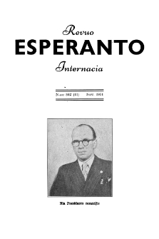 Esperanto : revuo internacia : oficiala organo de Universala Esperanto Asocio. Jaro 44, n. 552 (1951)