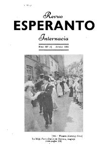 Esperanto : revuo internacia : oficiala organo de Universala Esperanto Asocio. Jaro 45, n. 557 (1952)