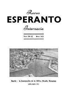 Esperanto : revuo internacia : oficiala organo de Universala Esperanto Asocio. Jaro 45, n. 558 (1952)