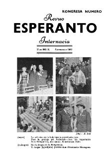 Esperanto : revuo internacia : oficiala organo de Universala Esperanto Asocio. Jaro 45, n. 562 (1952)