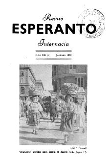 Esperanto : revuo internacia : oficiala organo de Universala Esperanto Asocio. Jaro 46, n. 566 (1953)