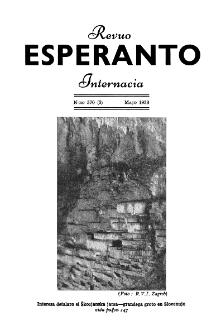 Esperanto : revuo internacia : oficiala organo de Universala Esperanto Asocio. Jaro 46, n. 570 (1953)