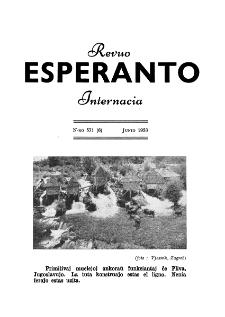 Esperanto : revuo internacia : oficiala organo de Universala Esperanto Asocio. Jaro 46, n. 571 (1953)