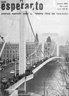 Esperanto : revuo internacia : oficiala organo de Universala Esperanto Asocio. Jaro 59, n. 722 (1966)