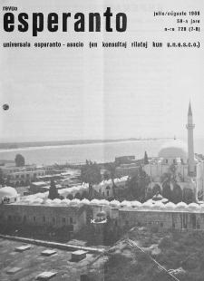 Esperanto : revuo internacia : oficiala organo de Universala Esperanto Asocio. Jaro 59, n. 728/729 (1966)