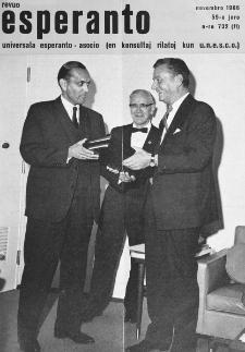 Esperanto : revuo internacia : oficiala organo de Universala Esperanto Asocio. Jaro 59, n. 732 (1966)