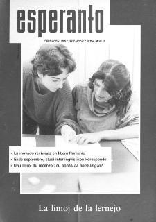 Esperanto : revuo internacia : oficiala organo de Universala Esperanto Asocio. Jaro 83, n. 1010 (1990)
