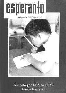 Esperanto : revuo internacia : oficiala organo de Universala Esperanto Asocio. Jaro 83, n. 1013 (1990)