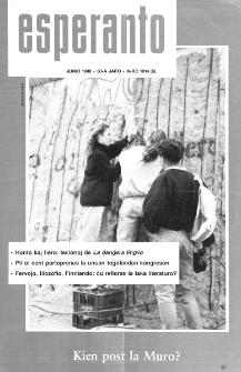 Esperanto : revuo internacia : oficiala organo de Universala Esperanto Asocio. Jaro 83, n. 1014 (1990)