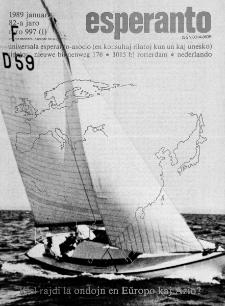 Esperanto : revuo internacia : oficiala organo de Universala Esperanto Asocio. Jaro 82, n. 997 (1989)