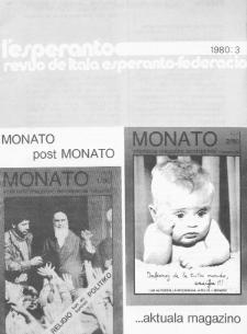 L'Esperanto. Anno 58, no 3 (1980)