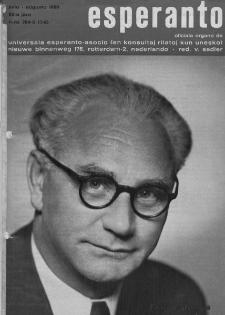 Esperanto : revuo internacia : oficiala organo de Universala Esperanto Asocio. Jaro 62, n. 764/765 (1969)