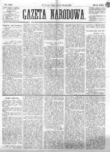Gazeta Narodowa. R. 13 (1874), nr 185 (14 sierpnia)