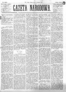 Gazeta Narodowa. R. 13 (1874), nr 190 (21 sierpnia)