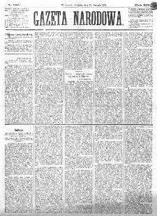 Gazeta Narodowa. R. 13 (1874), nr 192 (23 sierpnia)