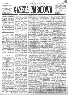 Gazeta Narodowa. R. 13 (1874), nr 193 (25 sierpnia)