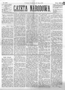 Gazeta Narodowa. R. 13 (1874), nr 198 (30 sierpnia)