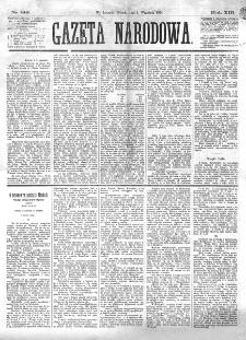 Gazeta Narodowa. R. 13 (1874), nr 199 (1 września)