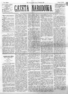 Gazeta Narodowa. R. 13 (1874), nr 200 (2 września)