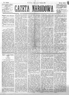 Gazeta Narodowa. R. 13 (1874), nr 202 (4 września)