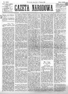 Gazeta Narodowa. R. 13 (1874), nr 203 (5 września)