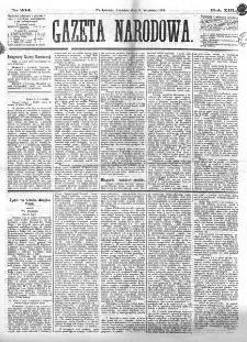 Gazeta Narodowa. R. 13 (1874), nr 204 (6 września)