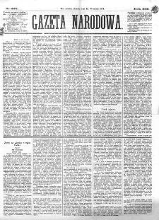 Gazeta Narodowa. R. 13 (1874), nr 208 (12 września)