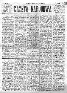Gazeta Narodowa. R. 13 (1874), nr 209 (13 września)