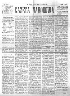 Gazeta Narodowa. R. 13 (1874), nr 218 (24 września)
